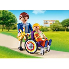 Child in Wheelchair - Playmobil LIMITED STOCK