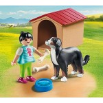 Dog with Dog House/Kennel - Playmobil