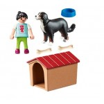 Dog with Dog House/Kennel - Playmobil New in 2020