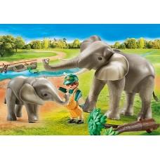 Elephant Habitat - Playmobil City Life Zoo  NEW in 2021