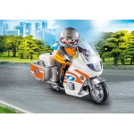 Emergency Motorbike - Playmobil City Action -  NEW in 2020 COMING SOON