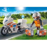 Emergency Motorbike - Playmobil City Action -  NEW in 2020