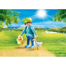 Farmer with Chicken - Playmobil LIMITED STOCK