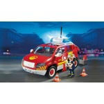 Fire Chiefs Car with Lights & Sound - Playmobil City Action Fire *