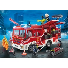 Fire Engine with Lights & Sound - Playmobil City Action Fire NEW in 2019