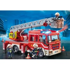 Fire Engine Ladder Unit with Lights and Sound - Playmobil City Action Fire NEW in 2019