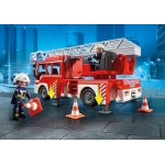 Fire Engine Ladder Unit with Lights and Sound - Playmobil City Action Fire
