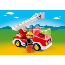 Fire Truck with Ladder - Playmobil 123