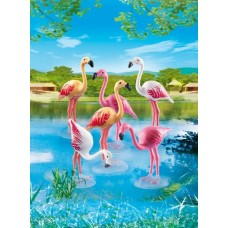 Flock of Flamingos - Playmobil City Life Zoo *