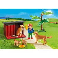 Golden Retriever with Toy - Playmobil Country Farm