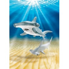 Hammerhead Shark with Baby  - Playmobil Aquarium