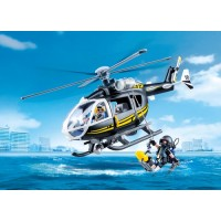 SWAT Team Helicopter - Playmobil   LIMITED STOCK