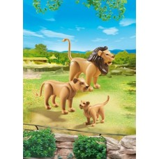 Lion Family - Playmobil City Life Zoo *