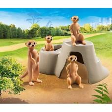 Meerkat Colony - Playmobil City Life Zoo  NEW in 2021