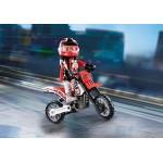 Motocross Driver - Playmobil