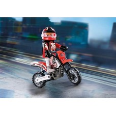 Motocross Driver - Playmobil - NEW in 2019