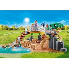 Outdoor Lion Enclosure - Playmobil City Life Zoo  NEW in 2021