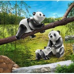 Pandas with Cub - Playmobil City Life Zoo  NEW in 2021