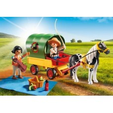 Picnic Pony and Wagon - Playmobil Pony Farm  NEW in 2017