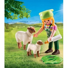 Farmer with Sheep - Playmobil LIMITED STOCK