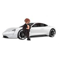Rex Dasher w Porsche Mission E - Remote Control - Playmobil Movie *