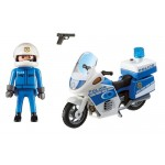 Police Bike with LED Light - Playmobil City Action Police