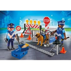 Police Roadblock - Playmobil City Action Police