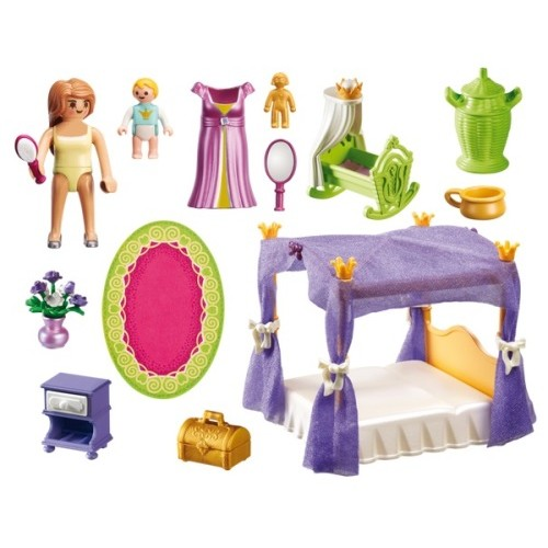 Princess Chamber With Cradle Playmobil New In 2017