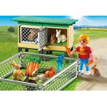 Rabbit Pen with Hutch - Playmobil Country Farm