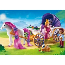 Royal Couple with Carriage - Playmobil Princess *