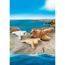 Seal with Pups - Playmobil Aquarium