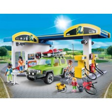 Service Station Petrol/Gas/Garage - Playmobil LIMITED STOCK