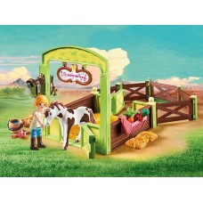Spirit Riding Free - Horse Stable 'Abigail & Boomerang' - Playmobil