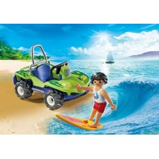 Surfer with Beach Quad - Playmobil