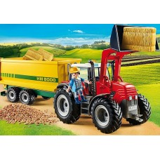 Tractor with Feed Trailer - Playmobil Country