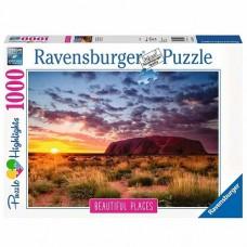 1000 pc Ravensburger Puzzle - Ayers Rock Australia