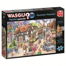 1000 pc Wasgij Puzzle Mystery #20 Mountain Mayhem