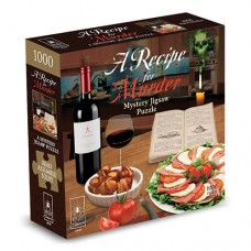 1000 pc Mystery Jigsaw Puzzle - A Recipe for Murder
