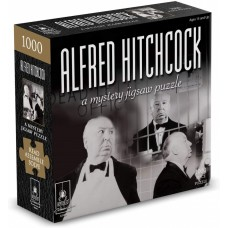 1000 pc Mystery Jigsaw Puzzle - Alfred Hitchcock