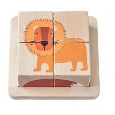 Block Puzzle Wooden - Jungle