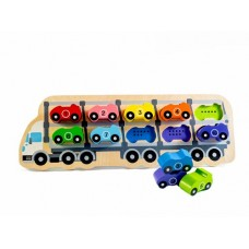 Car Puzzle 1-10 - Kiddie Connect