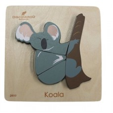Chunky Wooden Puzzle 4 pc - Australian Animal - Koala
