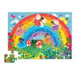 36 pc Crocodile Creek Puzzle Floor - Rainbow