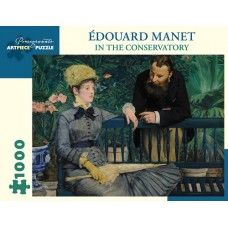 1000 pc Pomegranate Puzzle - Edouard Manet: In The Conservatory