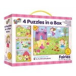 Fairy Puzzles - 4 in Box - Galt