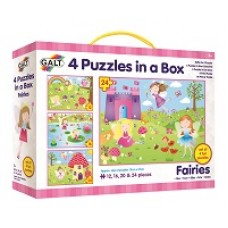 Fairy Puzzles - 4 in Box - Galt