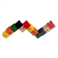 Wooden Twist Fidget Puzzle