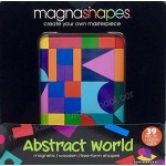 MagnaShapes Wooden - Abstract World - Gamewright