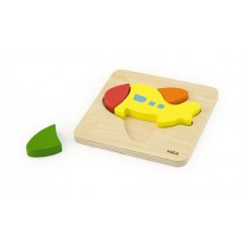 Chunky Wooden Puzzle 4 pc - Plane - Viga Toys
