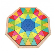 Octagonal Wooden Puzzle - Tooky Toys